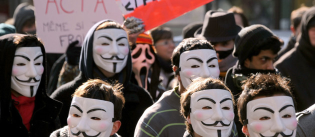 Manif Anonymous