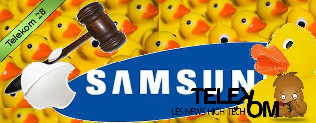 Telekom 28 : Apple, Samsung et les Canards