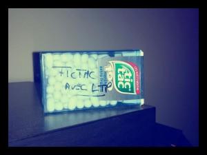 TicTac dedicacé par LTP